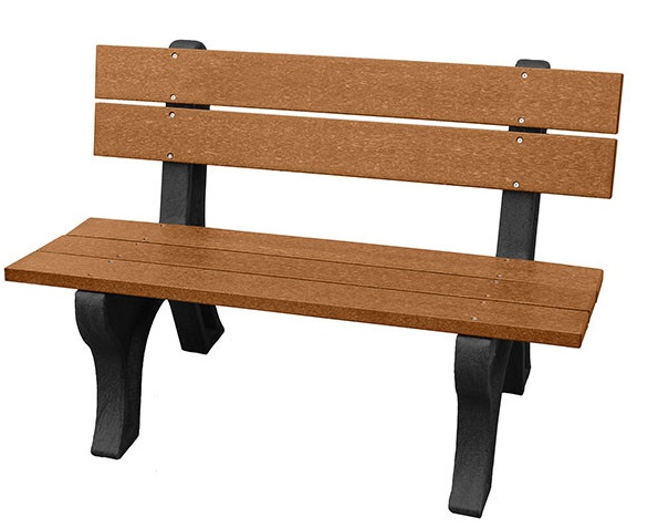 4' Economizer Backed Traditional Bench
