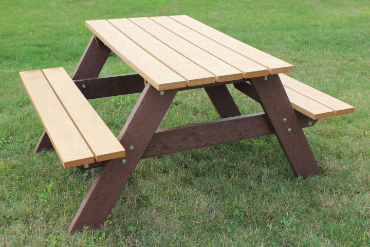 Economizer Space Saver 4' Picnic Table