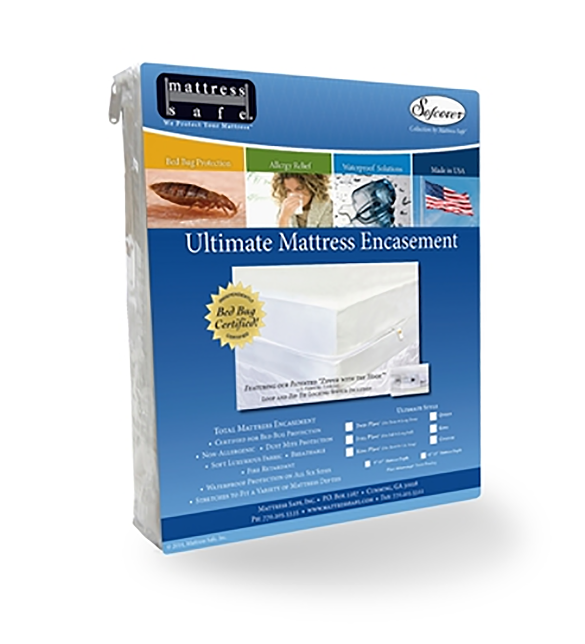 Rugged Comfort Plush Mattress Protector 13""