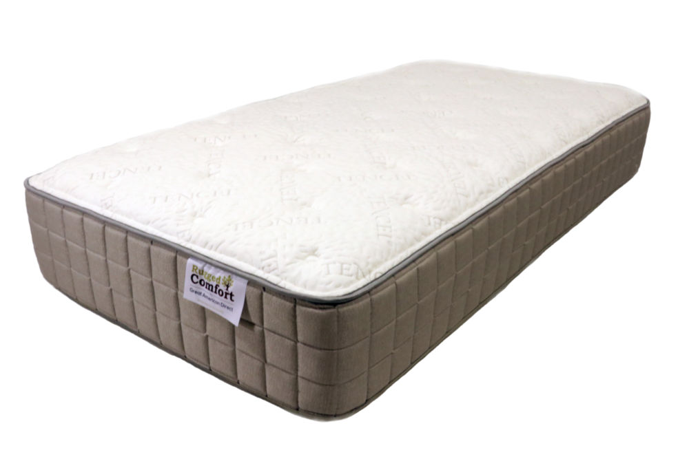 Rugged Comfort plush short queen mattress