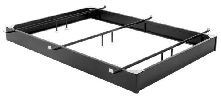 "LEGGETT & PLATT  - Bed Base, Steel - Brown Enamel 6"" High - 3 Cross Supports"