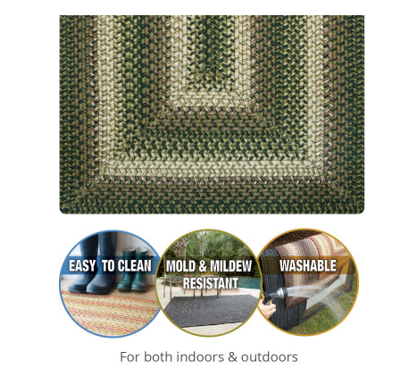 3x5 Rectangle Ultra Durable Rug